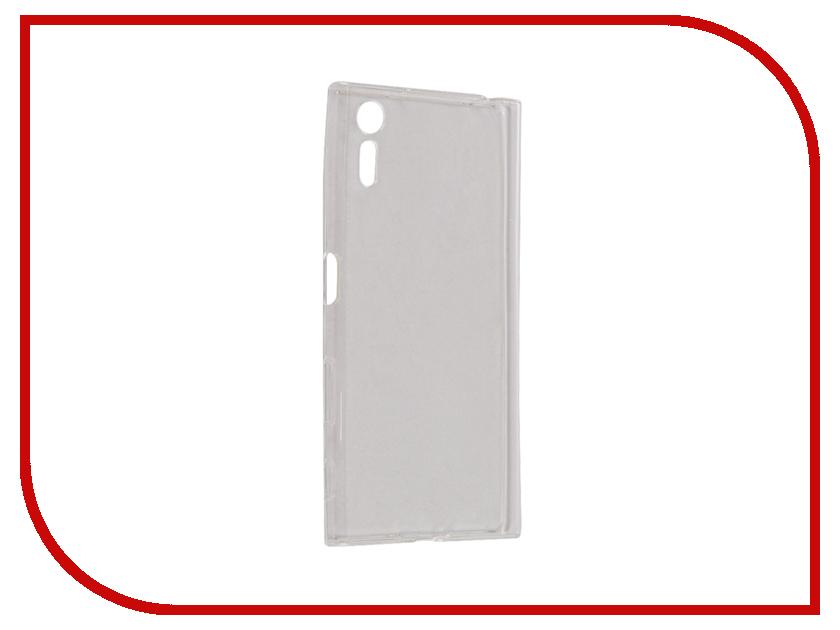 Аксессуар Чехол Sony Xperia XZ iBox Crystal Silicone Transparent аксессуар чехол sony xperia xz ibox crystal silicone transparent