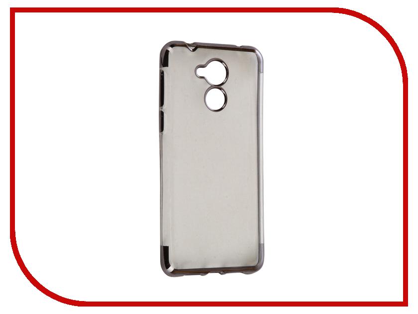 все цены на Аксессуар Чехол Huawei Honor 6C iBox Blaze Silicone Black frame онлайн