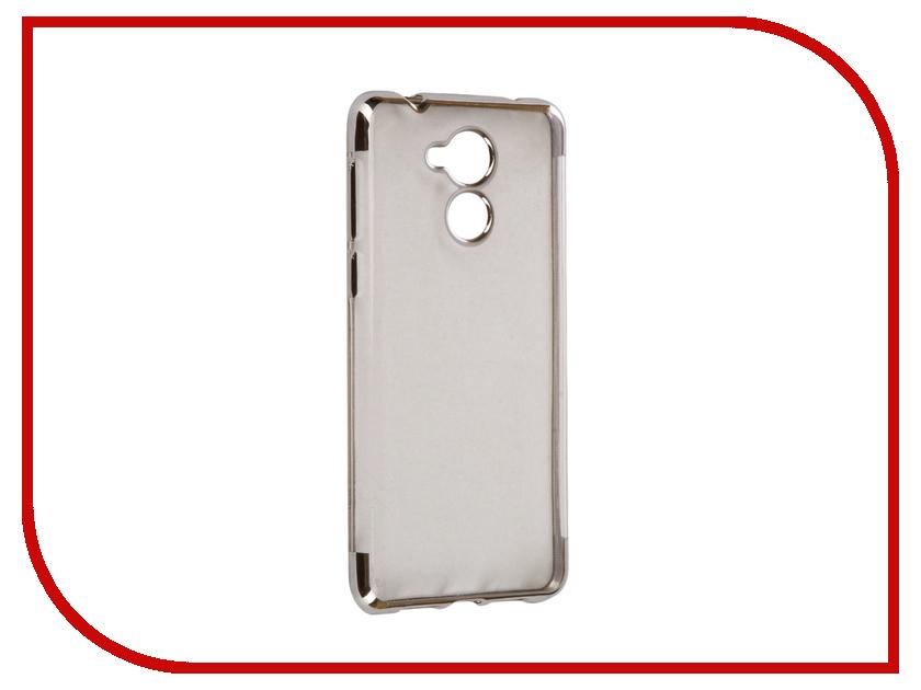 Аксессуар Чехол Huawei Honor 6C iBox Blaze Silicone Silver frame huawei honor 7 premium dns