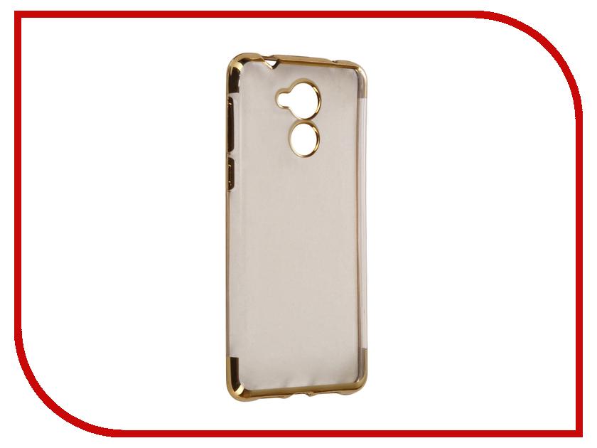 Аксессуар Чехол Huawei Honor 6C iBox Blaze Silicone Gold frame ibox для huawei honor 6x