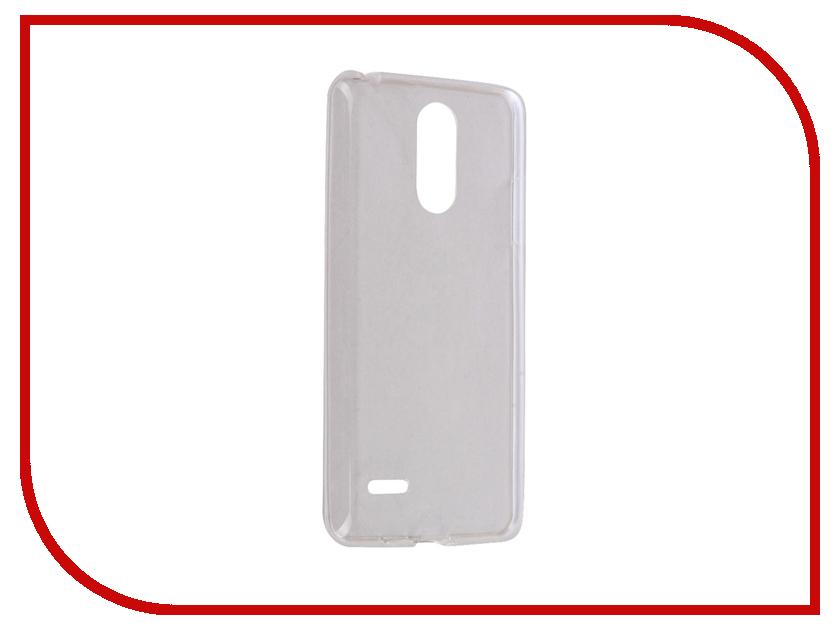Аксессуар Чехол LG K8 2017 iBox Crystal Silicone Transparent