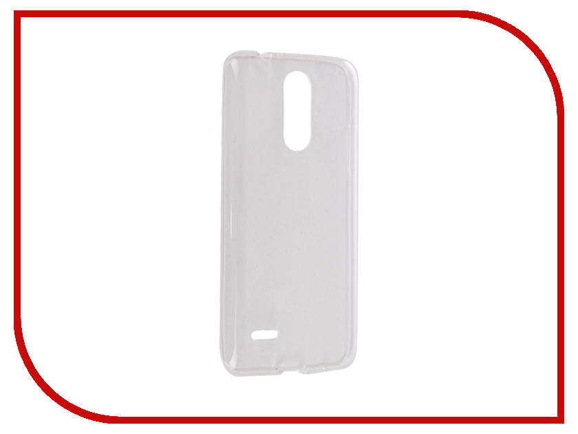 Аксессуар Чехол LG K7 2017 iBox Crystal Silicone Transparent аксессуар чехол htc desire 825 ibox crystal grey