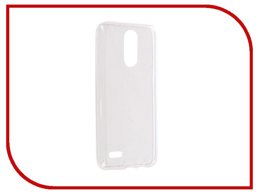 все цены на Аксессуар Чехол LG K10 2017 iBox Crystal Silicone Transparent онлайн