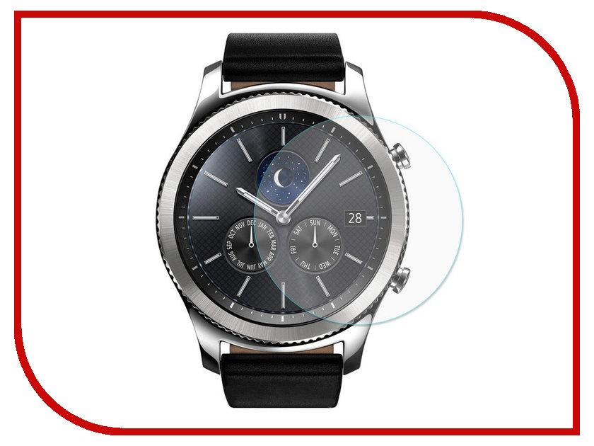 Аксессуар Защитное стекло Samsung Gear S3 Red Line gear s3 часы купить