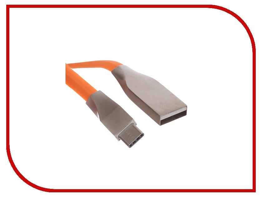 Аксессуар Red Line Smart High Speed USB - Type-C Orange аксессуар red line smart high speed usb 8 pin pink