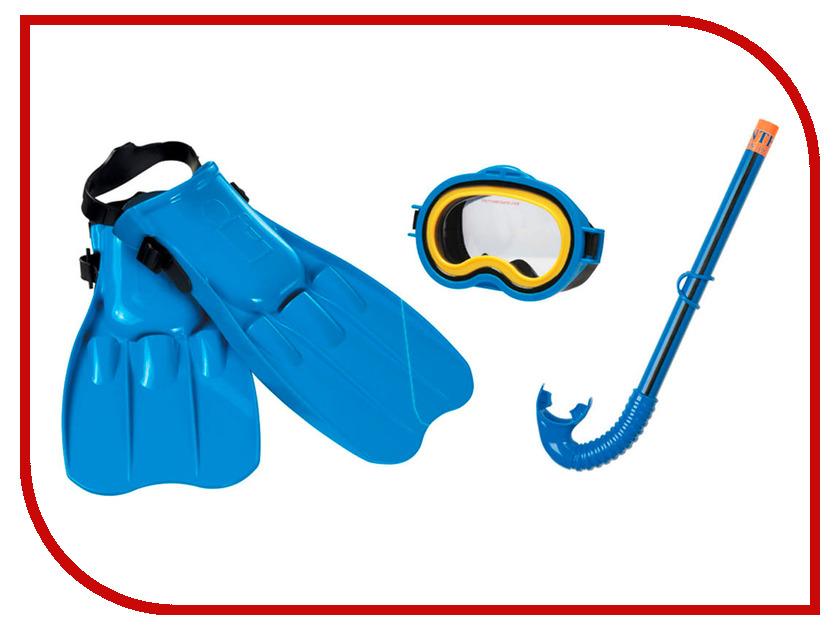Набор маска + трубка + ласты Intex Adventure View Swim 55951 набор для дайвинга маска трубка scubapro phoenix ii