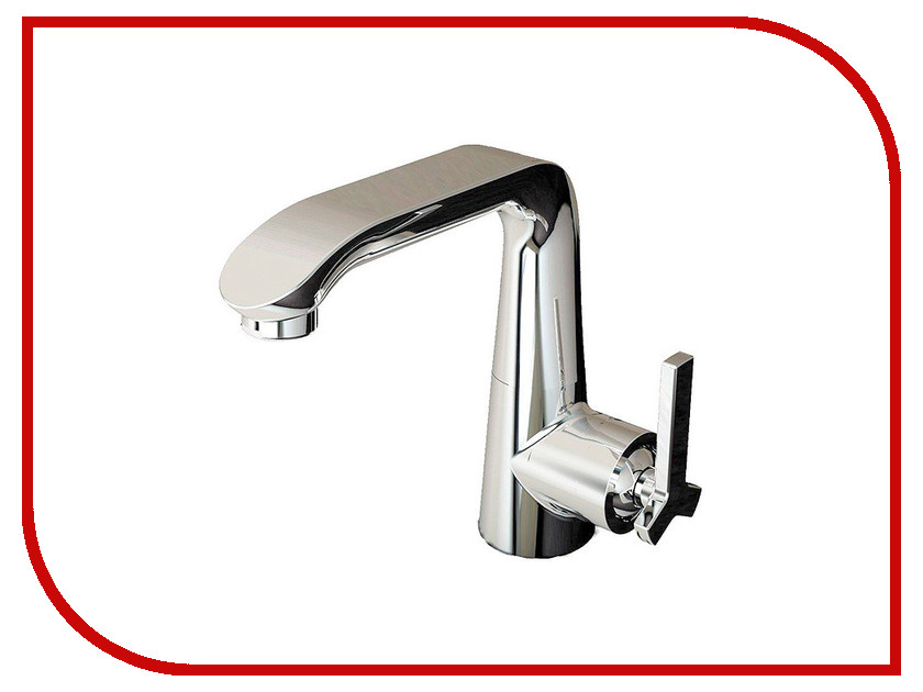 Смеситель Bravat Waterfall F173107C (WF0526) widespread bathroom sink waterfall faucet