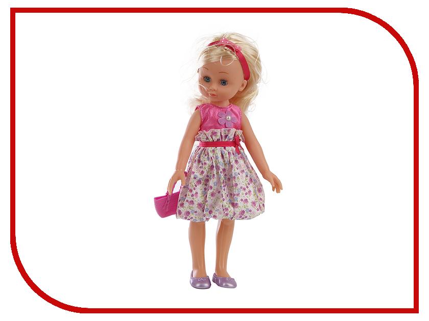 Кукла Карапуз POLI-01-A-RU карапуз кукла рапунцель со светящимся амулетом 37 см со звуком принцессы дисней карапуз