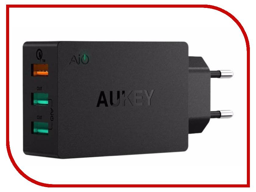 Фото Зарядное устройство Aukey PA-T14 Black