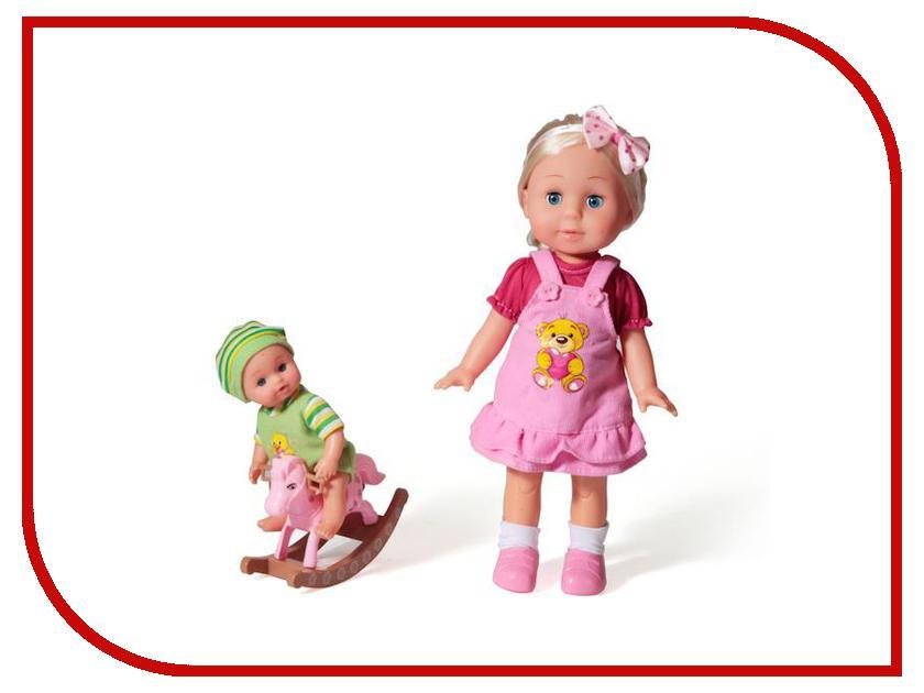 Кукла Карапуз POLI-03-D-RU карапуз кукла рапунцель со светящимся амулетом 37 см со звуком принцессы дисней карапуз