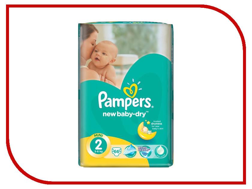 Подгузники Pampers New Baby-Dry Mini 3-6кг 66шт 4015400649649