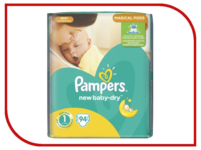 Подгузники Pampers New Baby-Dry Newborn 2-5кг 94шт 8001090172471