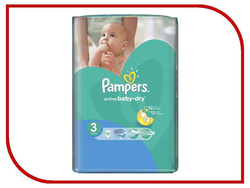 Подгузники Pampers Active Baby-Dry Midi 4-9кг 10шт 4015400815228
