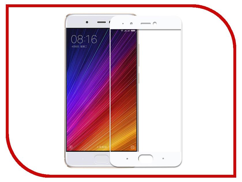 Аксессуар Закаленное стекло Xiaomi Mi 5s DF Full Screen xiColor-06 White аксессуар закаленное стекло df isteel 06 для iphone 6