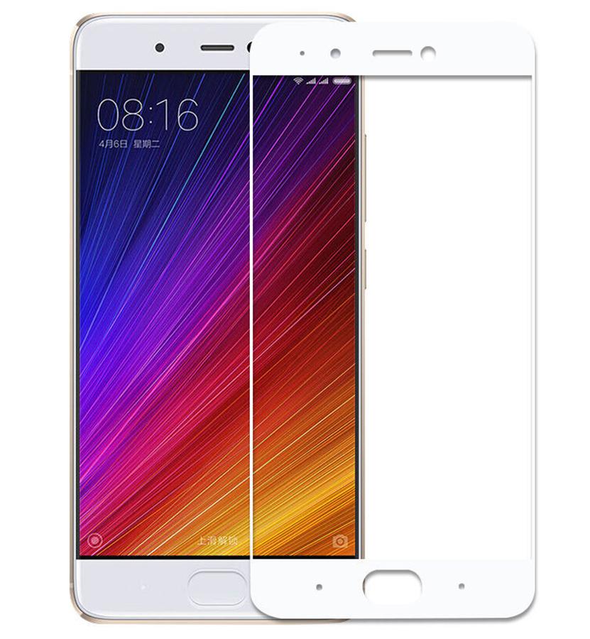 цены Аксессуар Закаленное стекло DF для Xiaomi Mi 5s Full Screen xiColor-06 White