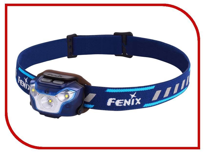 Фонарь Fenix HL26R Blue фонарь fenix fd65