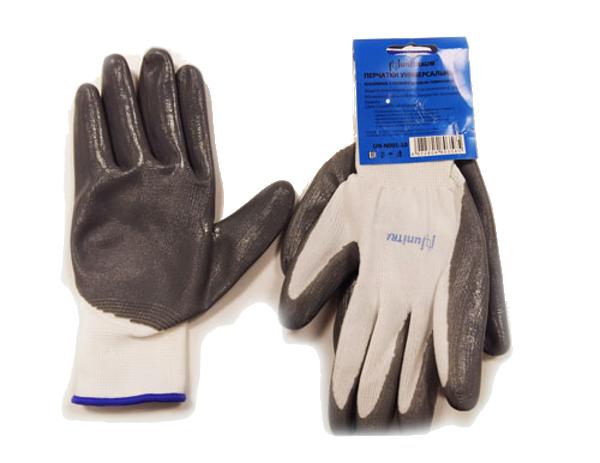 Перчатки Unitraum р.10 Grey-White UN-N001-10