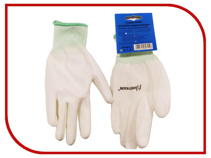 Аксессуар Перчатки Unitraum р.8 White UN-P001-8 перчатки unitraum р 9 grey white un n001 9