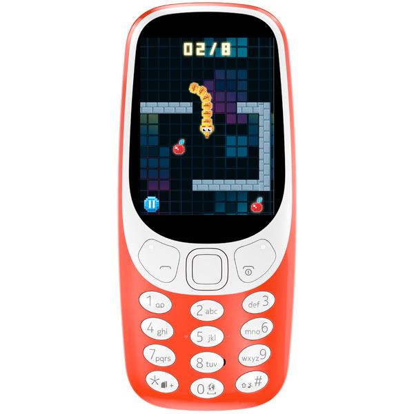 Сотовый телефон Nokia 3310 2017 (TA-1030) Red