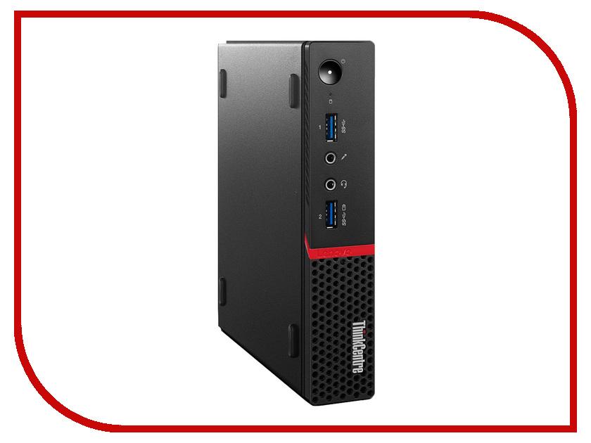 Настольный компьютер Lenovo ThinkCentre M700 Tiny 10HY0048RU (Intel Core i5-6400T 2.2 Ghz/4096Mb/128Gb SSD/No ODD/Intel HD Graphics/Wi-Fi/Bluetooth/DOS)