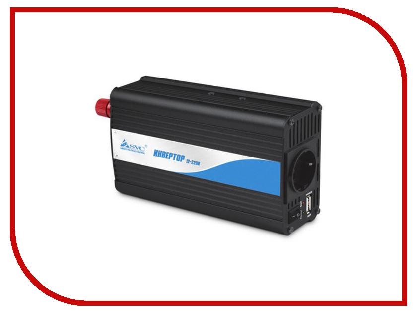Автоинвертор SVC BI-500 (500Вт) с 12В на 220В  автоинвертор ibest pi 01u2 200вт с 12в на 220в c usb