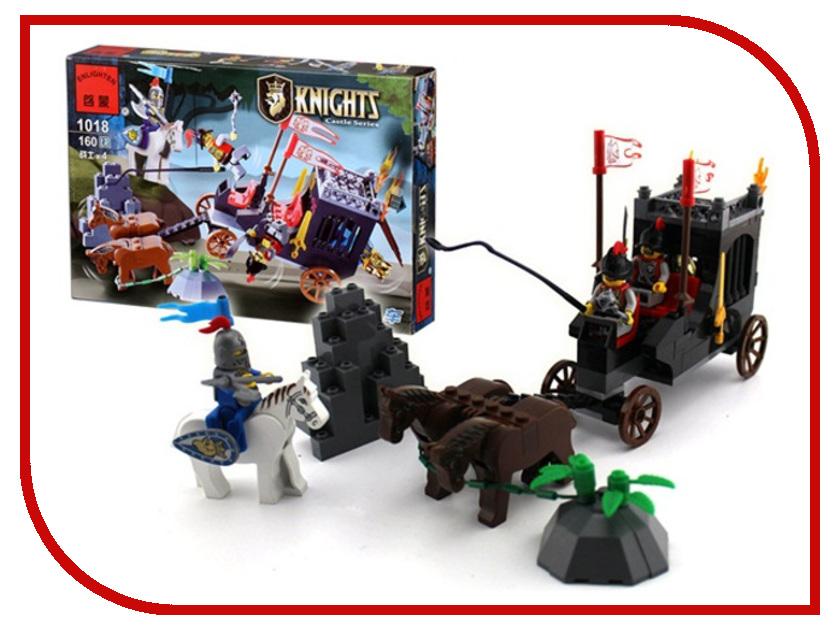 Конструктор Enlighten Brick Рыцари 1018 Г71082 конструктор enlighten brick город 1120 радостное путешествие г72908