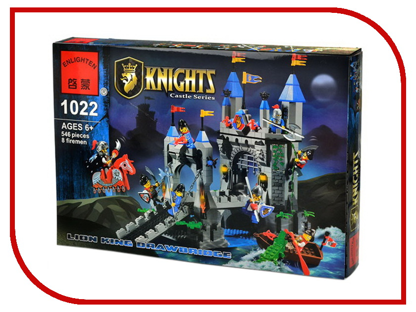Конструктор Enlighten Brick Knights 1022 Г79594 enlighten brick 828
