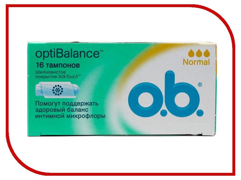 O.B. OptiBalance Normal 16шт 3574660460988