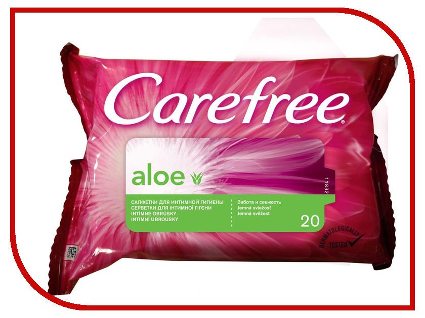 Средство для ухода за телом Carefree Aloe Extract 20шт 3574660252309