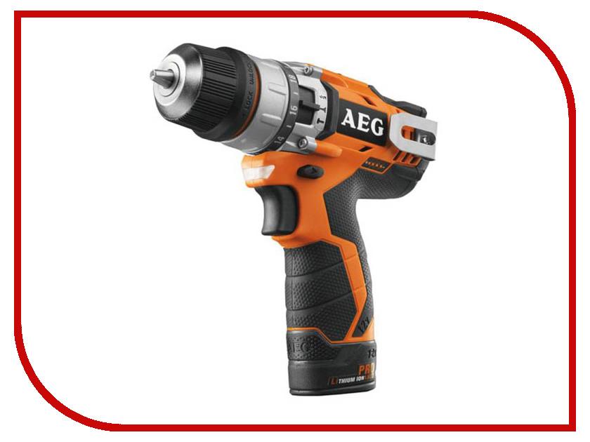 цена на Электроинструмент AEG BSB 12C2 Li-X02B 451418