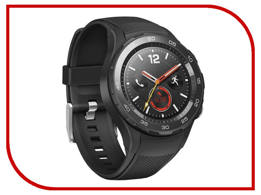 Умные часы Huawei Watch 2 Sport LTE Black 55021931
