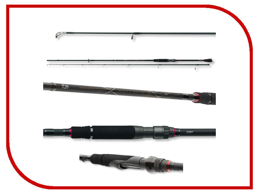 Удилище Daiwa Ballistic-X Jigger 2.40m 7-28g 11503-240RU