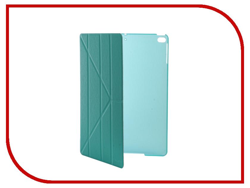 Аксессуар Чехол IT Baggage для iPad Air 9.7 2017 Hard Case иск.кожа Turquoise ITIPAD51-6