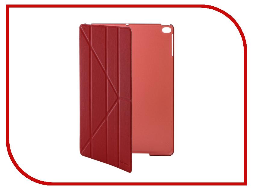 Аксессуар Чехол IT Baggage для iPad Air 9.7 2017 Hard Case иск.кожа Red ITIPAD51-3
