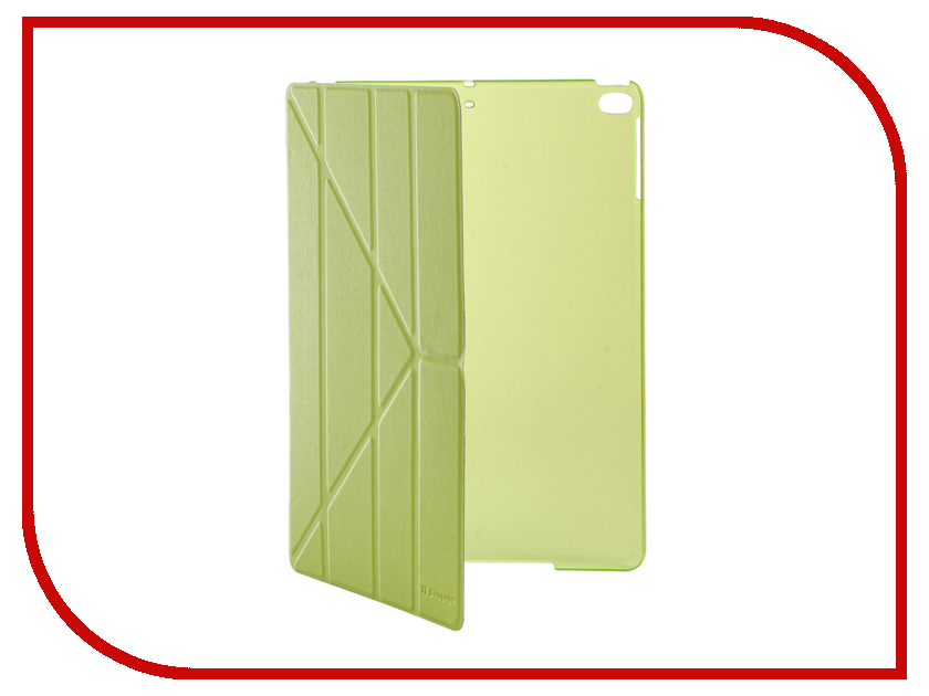 Аксессуар Чехол IT Baggage для iPad Air 9.7 2017 Hard Case иск.кожа Lime ITIPAD51-5
