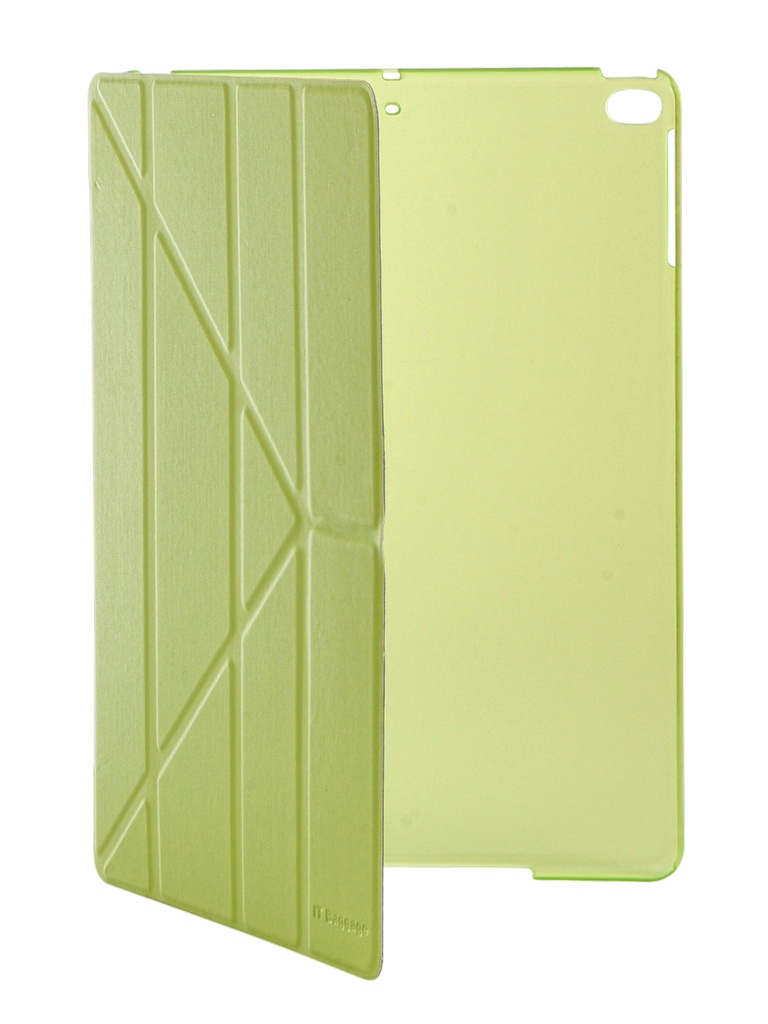 все цены на Аксессуар Чехол IT Baggage для iPad Air 9.7 2017 Hard Case иск.кожа Lime ITIPAD51-5 онлайн