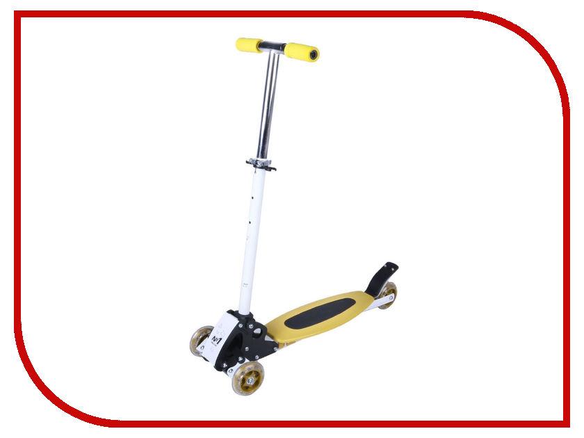 где купить  Самокат Onlitop Jetfire OT-016 Yellow 1693796  по лучшей цене