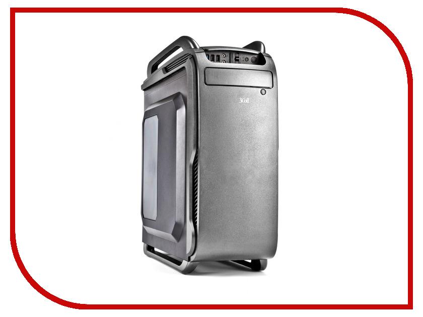 Корпус 3Cott 3C-ATX666GGR 800W рюкзак sland камуфляж 60 1491297