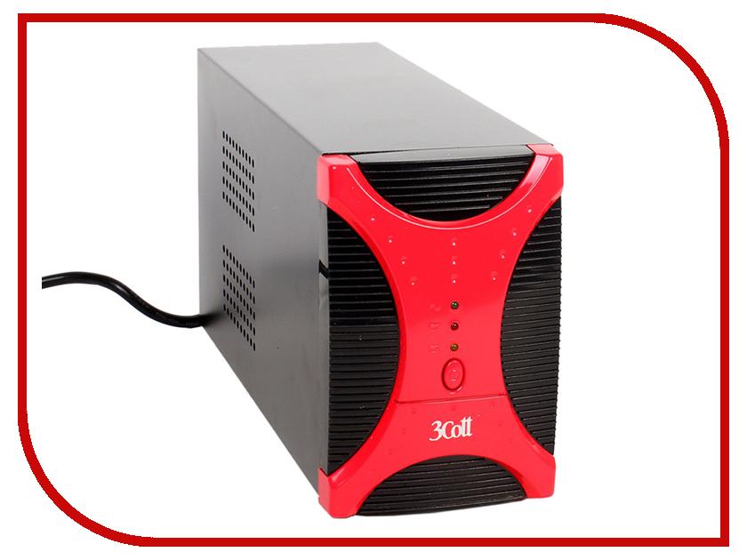 Источник бесперебойного питания 3Cott 3C-1000-MCSE SOHO II Series pofan dual usb ports car charger