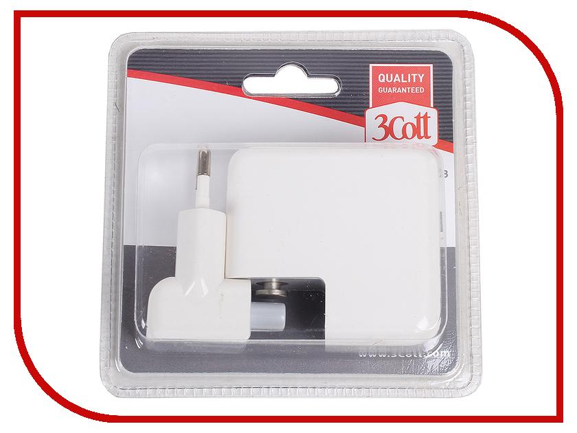 все цены на  Зарядное устройство 3Cott 3C-WC-184W-4USB White  онлайн