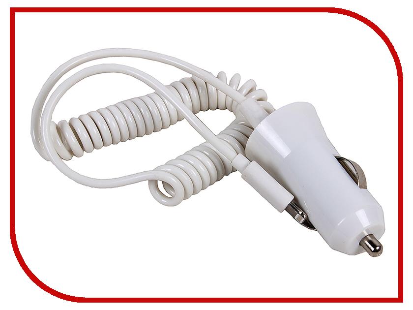 Зарядное устройство 3Cott 3C-CC-142CW-1USB-1IP6 White rybinst rs8f212