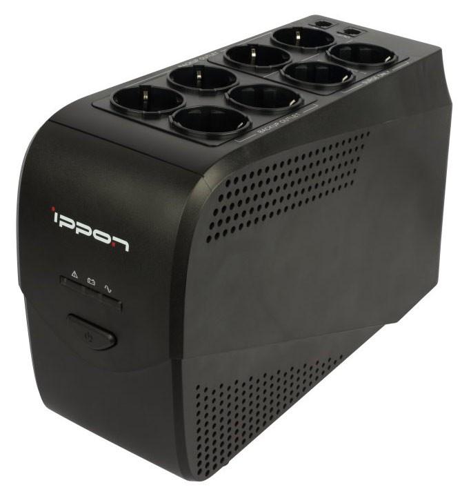 Источник бесперебойного питания Ippon Back Comfo Pro 800 New источник бесперебойного питания ippon back power pro lcd 400