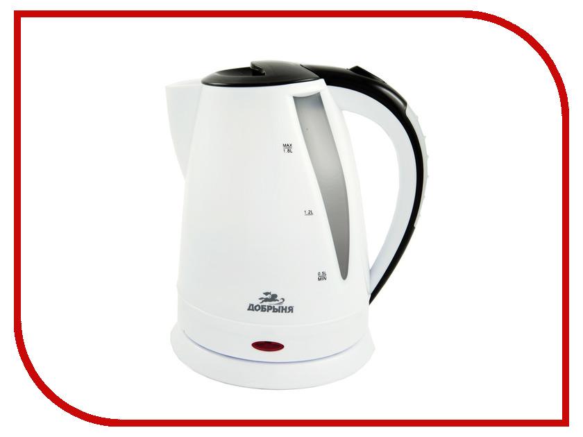 купить Чайник Добрыня DO-1225 White-Black онлайн