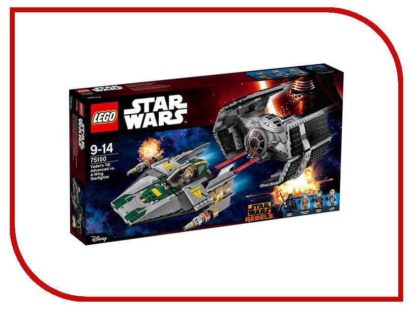 Конструктор Lego Star Wars Усовершенствованный истребитель Вейдера против звёздного истребителя 75150 lego конструктор сид дарта вейдера против a wing star wars 75150