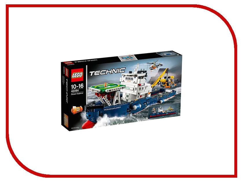 Конструктор Lego Technic Исследователь океана 42064 lego technic конструктор рекордсмен