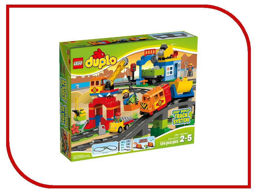 Конструктор Lego Duplo Большой поезд 10508 конструкторы lego lego игрушка мой первый поезд номер модели 10507 серия duplo