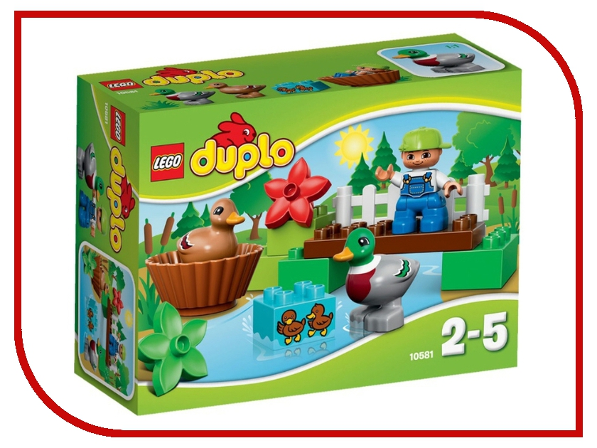 Конструктор Lego Duplo Уточки в лесу 10581 конструктор lego duplo лесной заповедник 10584