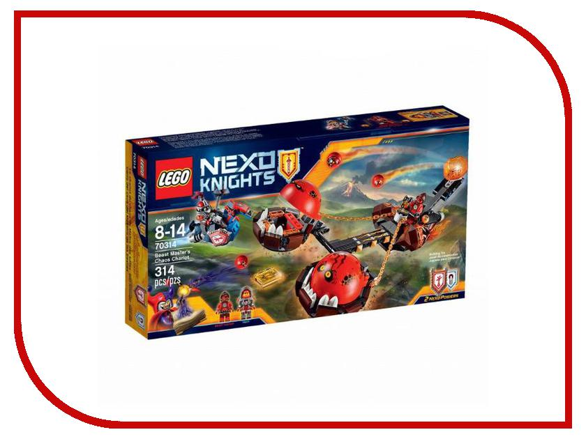 Конструктор Lego Nexo Knights Безумная колесница Укротителя 70314 lego knights купить