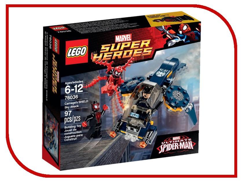 Конструктор Lego Marvel Super Heroes Воздушная атака Карнажа 76036 торпедная атака 1085542