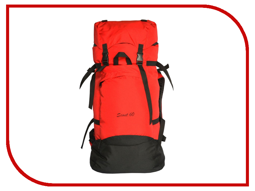 Рюкзак PRIVAL Скаут 60 Red prival double lux